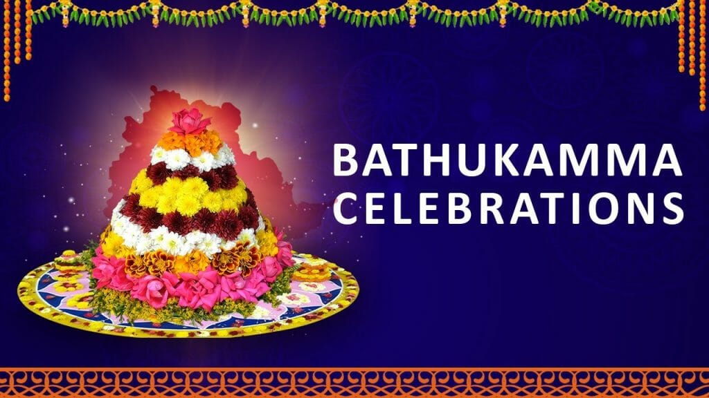 Bathukamma celebrations at LB Stadium in 2019